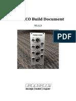 Pure VCO Build Doc 201507012