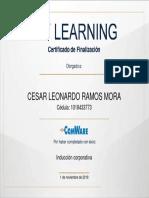 César Ramos-Certificado de Inducción Coorporativa
