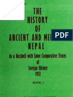 The History of Ancient & Medieval Nepal