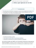 Parentificación_ niños que ejercen el rol de padres — La Mente es Maravillosa