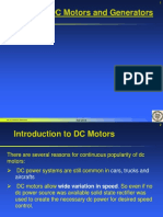 Chapter 8  - DC Motors and Generators