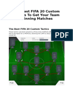 The Best FIFA 20 Custom Tactics To Get Your Team Winning Matches.docx