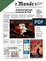 Journal LE MONDE Du Mercredi 25 Et Jeudi 26 Decembre 2019