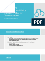 The Negative Consequences of Police Culture copy