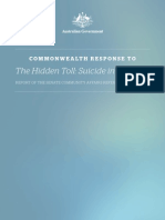 D0146 the Hidden Toll Suicide in Australia Report of the Senate Community Affairs Reference Committee