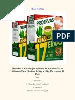 E-book Chá 17 Dias