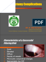 TRABECULECTOMY Complications final