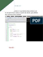 TP 01 C++PDF
