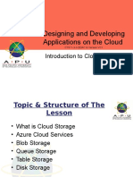 8_CT071-3-3-DDAC - Introduction to Cloud Storage