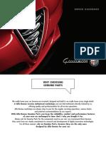 2016 Alfa Romeo Giulietta owner's manual