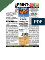 November 28 2010 Newsletter