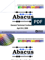 abacus_rolling_presentation_gtc2009.ppt