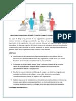 DIRECCIÓN DE PERSONAS Y DESARROLLO ORGANIZATIVO PULSE AQUI PARA VER  LOS OBJETIVOS Y EL CONTENIDO PROGRAMATICO DE LA MAESTRIA INTERNACIONAL