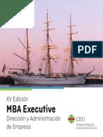 XV MBA Executive