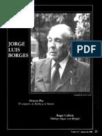 Octavio Paz. BORGES El Arquero, la Flecha y el Blanco 19Pts