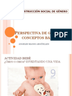 PERSPECTIVA DE GÉNERO CONCEPTOS BÁSICOS