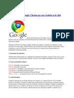Cateva trucuri Google Chrome pe care trebuie sa le stiti