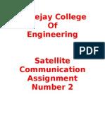 Satellite Communications for Hostile Environments