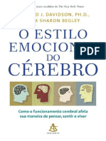O estilo emocional do cerebro - Richard J. Davidson