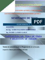 Clase 3- Seminario de Tesis IQ