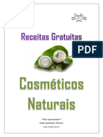 Receitas Gratuitas Cosméticos Naturais