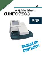 Manual de Operación Clinitek 500