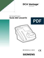 Manual DCA VANTAGE