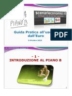 Il Piano B per l'Italia