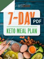 2019+KetoSummit+7-Day+Keto+Meal+Plan