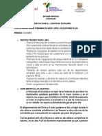 INFORME FINAL DE PROCESO LUDOTECAS