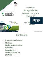 5 Criterios en la degradación de productos plásticos - Alethia