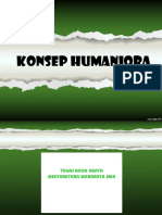 (1) Konsep Humaniora OK