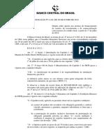 Resolução nº 4342 normas gerais financiamentos 2014 2015