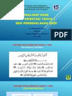 Slide Orientasi Tahun 1 Sesi 2020