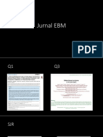 Bedah Jurnal EBM