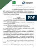 DELIBERAÇÃO CEE.MS N° 10.814, DE 10 DE MARÇO DE 2016.