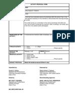 Activity-Proposal-Form
