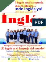 CARTEL INGLÉS 2019K