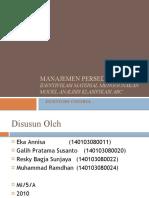 Manajemen Persediaan & Metode Analisis ABC