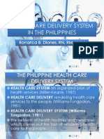 HEALTHCARE DELIVERY SYSTEM IN THE PHILIPPINES