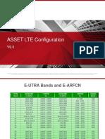 ASSET LTE Config Definition