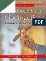 APOLOGETICA CATOLICA 1