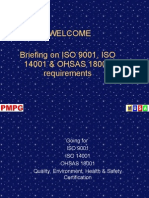 20973099-Welcome-Briefing-on-Iso-9001-Iso-14001-Ohsas-18001