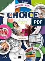 Choice Magazine Spring 2020