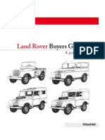 Land Rover Buying Guide