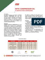 Cograem Synthetic Compressor Oil