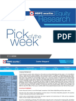 HSL PCG - Pick of the Week