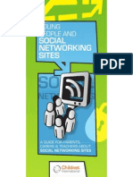 Young people and social networking sites by Childnet International