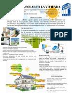 Cartel Energia Solar en La Vivienda