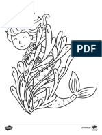 mermaid-colouring-pages-english